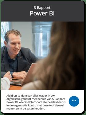 S-Rapport Power BI voor SnelStart
