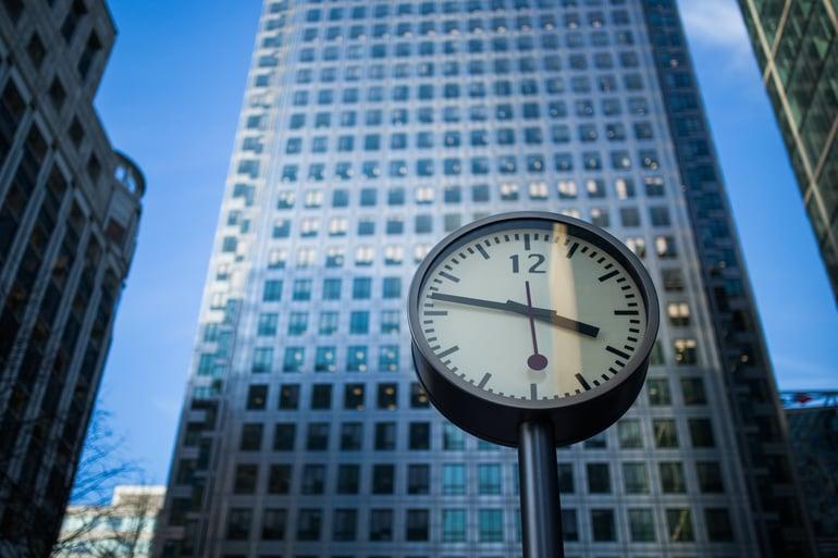 Urenregistratie klok